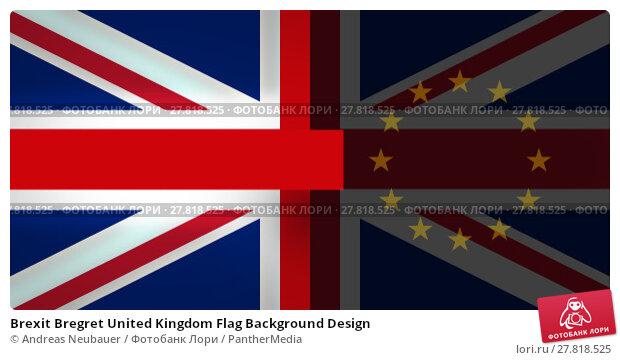 Купить «Brexit Bregret United Kingdom Flag Background Design», фото № 27818525, снято 21 февраля 2018 г. (c) PantherMedia / Фотобанк Лори
