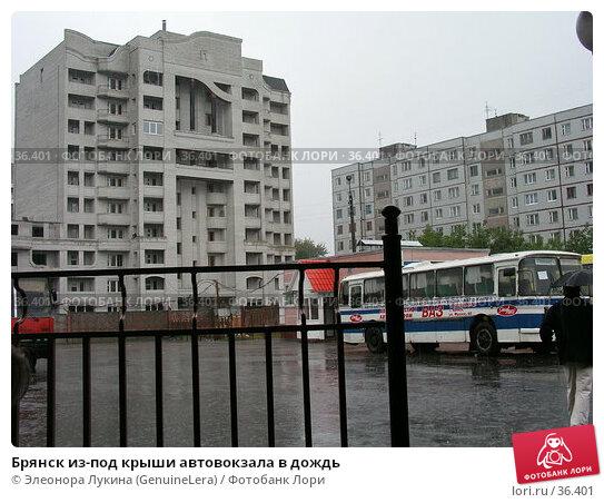 Брянск из-под крыши автовокзала в дождь, фото № 36401, снято 18 января 2017 г. (c) Элеонора Лукина (GenuineLera) / Фотобанк Лори