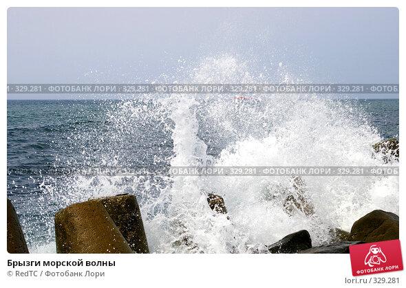 Брызги морской волны, фото № 329281, снято 19 июня 2008 г. (c) RedTC / Фотобанк Лори