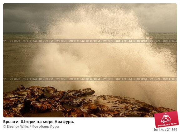 Брызги. Шторм на море Арафура., фото № 21869, снято 1 апреля 2007 г. (c) Eleanor Wilks / Фотобанк Лори