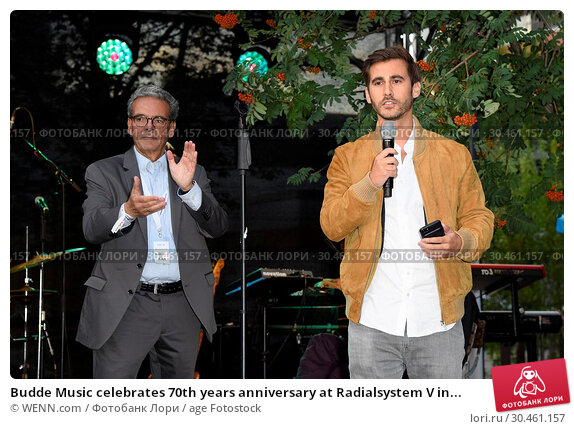Budde Music celebrates 70th years anniversary at Radialsystem V in... (2017 год). Редакционное фото, фотограф WENN.com / age Fotostock / Фотобанк Лори