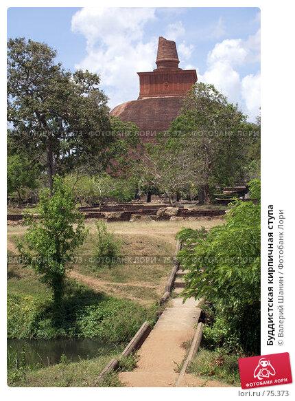 Купить «Буддистская кирпичная ступа», фото № 75373, снято 27 мая 2007 г. (c) Валерий Шанин / Фотобанк Лори