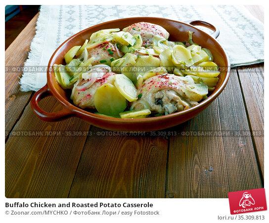 Buffalo Chicken and Roasted Potato Casserole. Стоковое фото, фотограф Zoonar.com/MYCHKO / easy Fotostock / Фотобанк Лори