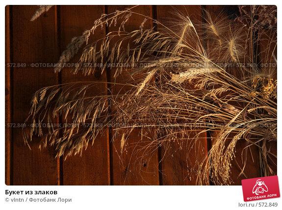 Букет из злаков. Стоковое фото, фотограф vlntn / Фотобанк Лори