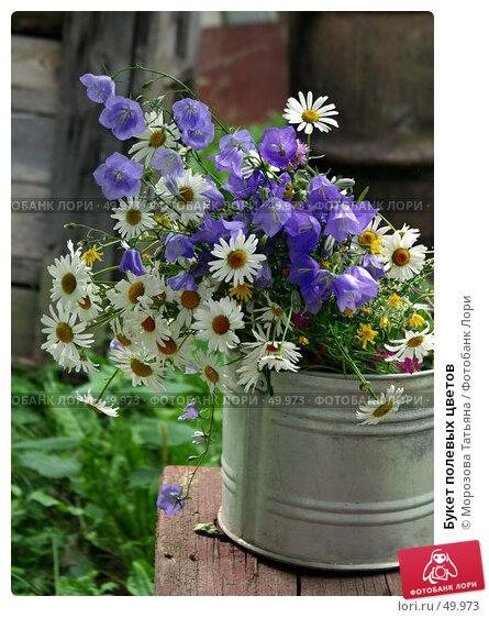 Букет полевых цветов, фото № 49973, снято 11 июля 2004 г. (c) Морозова Татьяна / Фотобанк Лори