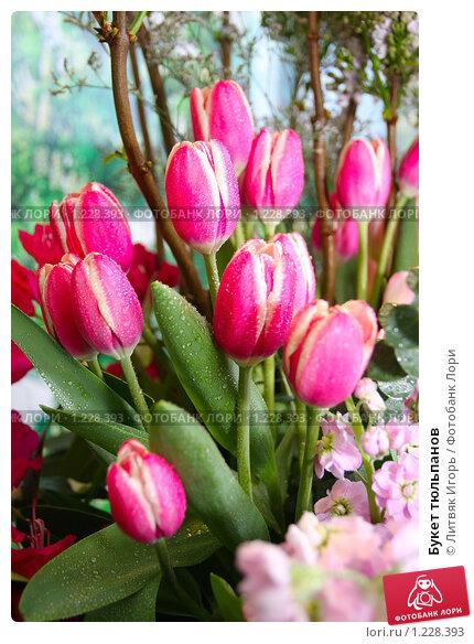 Купить «Букет тюльпанов», эксклюзивное фото № 1228393, снято 24 апреля 2008 г. (c) Литвяк Игорь / Фотобанк Лори