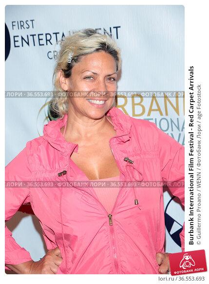 Burbank International Film Festival - Red Carpet Arrivals. Редакционное фото, фотограф Guillermo Proano / WENN / age Fotostock / Фотобанк Лори