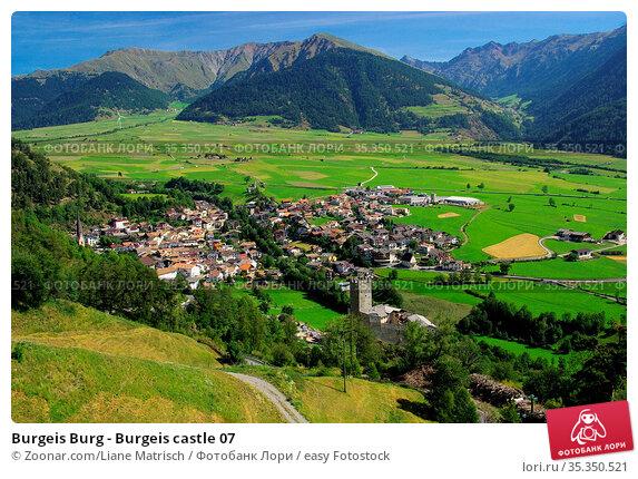 Burgeis Burg - Burgeis castle 07. Стоковое фото, фотограф Zoonar.com/Liane Matrisch / easy Fotostock / Фотобанк Лори