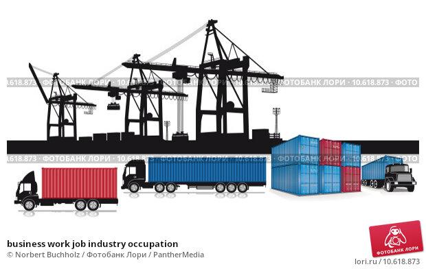 business work job industry occupation. Стоковая иллюстрация, иллюстратор Norbert Buchholz / PantherMedia / Фотобанк Лори