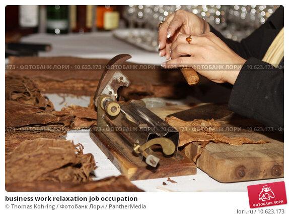 business work relaxation job occupation. Стоковое фото, фотограф Thomas Kohring / PantherMedia / Фотобанк Лори