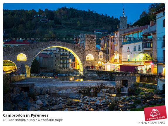 Купить «Camprodon in Pyrenees», фото № 28917957, снято 29 октября 2016 г. (c) Яков Филимонов / Фотобанк Лори