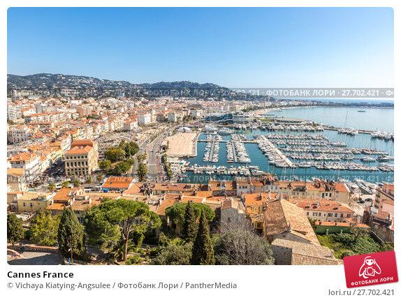 Купить «Cannes France», фото № 27702421, снято 21 марта 2019 г. (c) PantherMedia / Фотобанк Лори