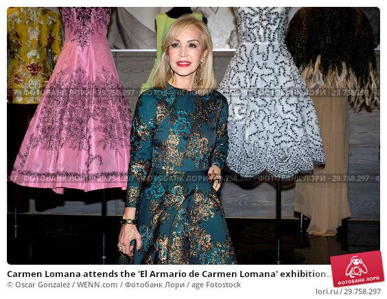 Купить «Carmen Lomana attends the 'El Armario de Carmen Lomana' exhibition at Dress Museum Featuring: Carmen Lomana Where: Madrid, Spain When: 21 Feb 2018 Credit: Oscar Gonzalez/WENN.com», фото № 29758297, снято 21 февраля 2018 г. (c) age Fotostock / Фотобанк Лори
