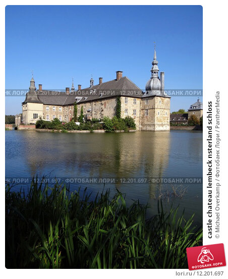 Купить «castle chateau lembeck nsterland schloss», фото № 12201697, снято 4 июля 2020 г. (c) PantherMedia / Фотобанк Лори