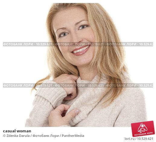 Купить «casual woman», фото № 10529621, снято 16 июля 2019 г. (c) PantherMedia / Фотобанк Лори