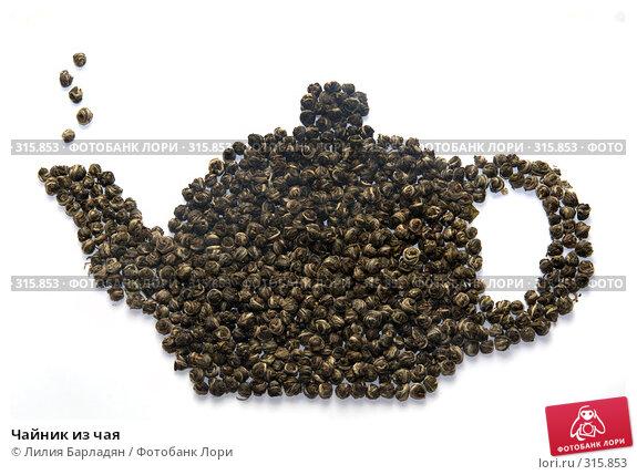 Чайник из чая, фото № 315853, снято 15 марта 2008 г. (c) Лилия Барладян / Фотобанк Лори