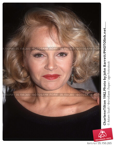 CharleneTilton 1982.Photo by John Barrett/PHOTOlink.net...... Редакционное фото, фотограф Adam Scull / age Fotostock / Фотобанк Лори
