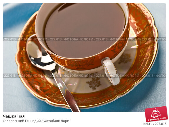 Чашка чая, фото № 227013, снято 3 августа 2005 г. (c) Кравецкий Геннадий / Фотобанк Лори