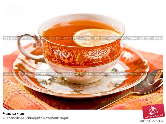 Купить «Чашка чая», фото № 228437, снято 5 сентября 2005 г. (c) Кравецкий Геннадий / Фотобанк Лори