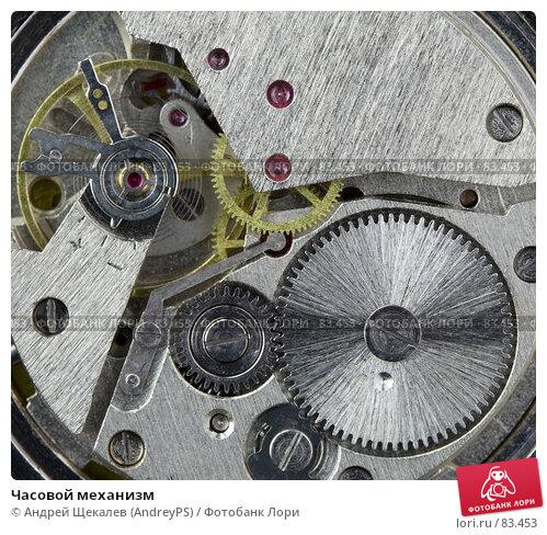 Купить «Часовой механизм», фото № 83453, снято 1 апреля 2007 г. (c) Андрей Щекалев (AndreyPS) / Фотобанк Лори