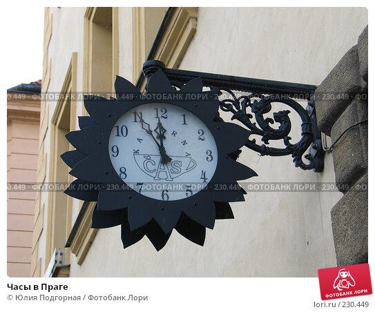 Купить «Часы в Праге», фото № 230449, снято 20 марта 2008 г. (c) Юлия Селезнева / Фотобанк Лори