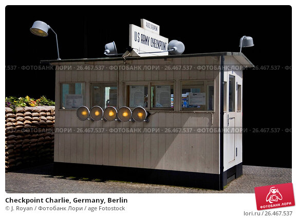 Купить «Checkpoint Charlie, Germany, Berlin», фото № 26467537, снято 13 мая 2007 г. (c) age Fotostock / Фотобанк Лори
