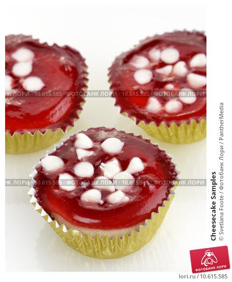 Cheesecake Samples. Стоковое фото, фотограф Svetlana Foote / PantherMedia / Фотобанк Лори