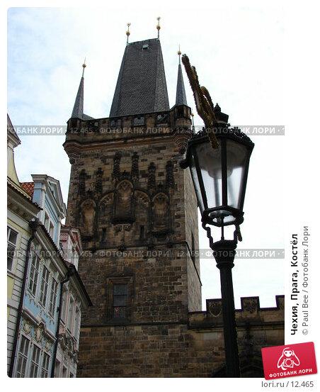 Чехия, Прага, Костёл, фото № 12465, снято 9 февраля 2006 г. (c) Paul Bee / Фотобанк Лори