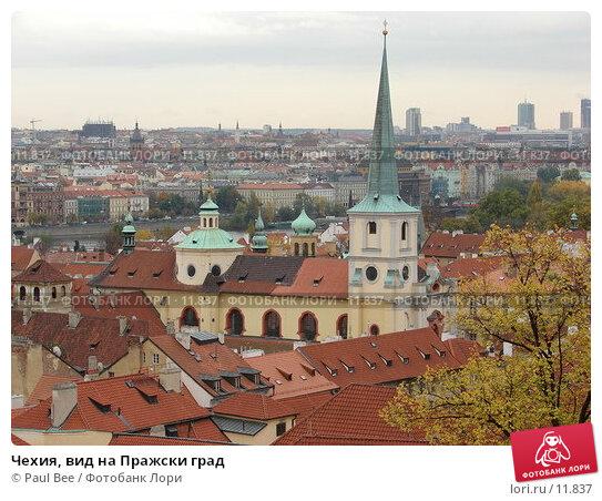 Чехия, вид на Пражски град, фото № 11837, снято 9 февраля 2006 г. (c) Paul Bee / Фотобанк Лори