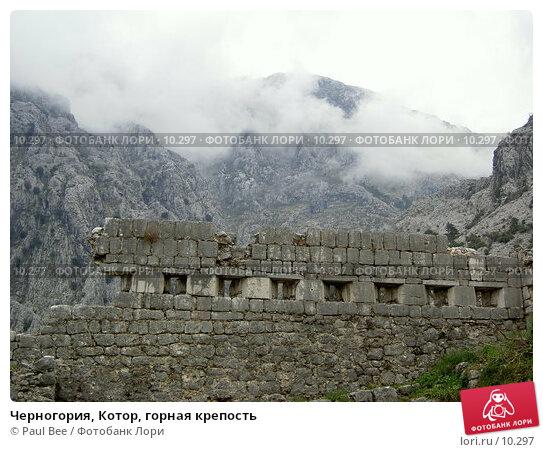 Черногория, Котор, горная крепость, фото № 10297, снято 7 января 2006 г. (c) Paul Bee / Фотобанк Лори