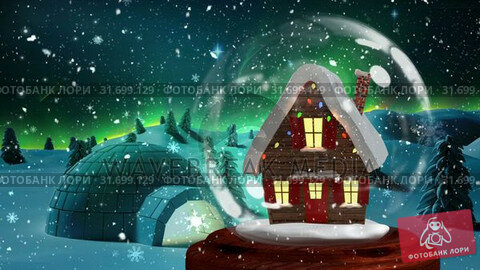 Купить «Christmas animation of Christmas house in snowy landscape 4k», видеоролик № 31699129, снято 26 октября 2018 г. (c) Wavebreak Media / Фотобанк Лори