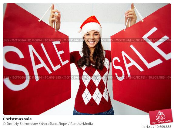 Christmas sale. Стоковое фото, фотограф Dmitriy Shironosov / PantherMedia / Фотобанк Лори