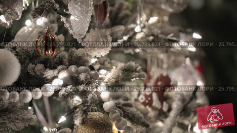 Christmass fir tree, видеоролик № 25795021, снято 14 марта 2016 г. (c) Алексей Макаров / Фотобанк Лори
