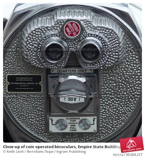 Купить «Close-up of coin operated binoculars, Empire State Building, Midtown Manhattan, New York City, New York State, USA», фото № 30654217, снято 20 января 2020 г. (c) Ingram Publishing / Фотобанк Лори