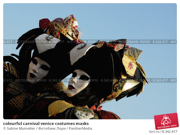 Купить «colourful carnival venice costumes masks», фото № 8342417, снято 22 июля 2019 г. (c) PantherMedia / Фотобанк Лори