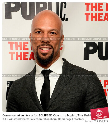 Купить «Common at arrivals for ECLIPSED Opening Night, The Public Theater, New York, NY October 14, 2015. Photo By: Eli Winston/Everett Collection», фото № 28930713, снято 14 октября 2015 г. (c) age Fotostock / Фотобанк Лори