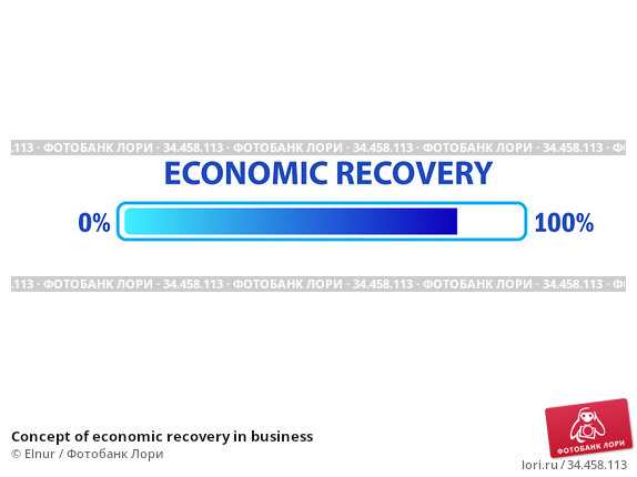 Concept of economic recovery in business. Стоковое фото, фотограф Elnur / Фотобанк Лори