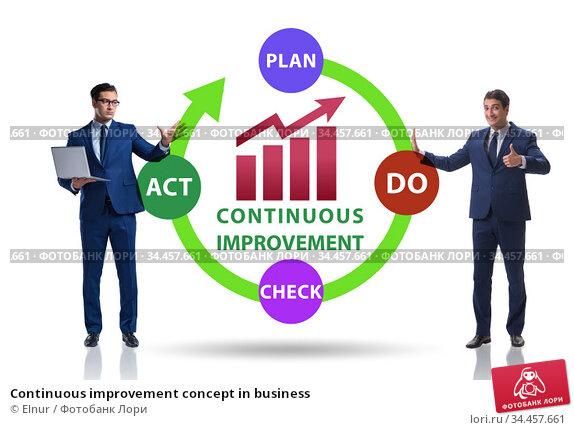 Continuous improvement concept in business. Стоковое фото, фотограф Elnur / Фотобанк Лори