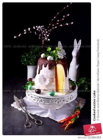 Cooked easter cake. Стоковое фото, фотограф Zoonar.com/Darius Dzinnik / easy Fotostock / Фотобанк Лори