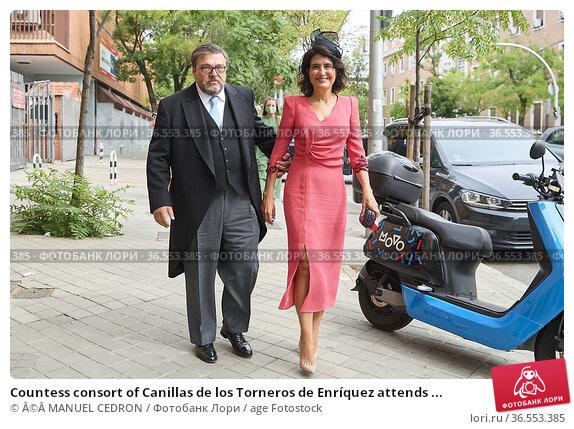 Countess consort of Canillas de los Torneros de Enríquez attends ... Редакционное фото, фотограф ©MANUEL CEDRON / age Fotostock / Фотобанк Лори