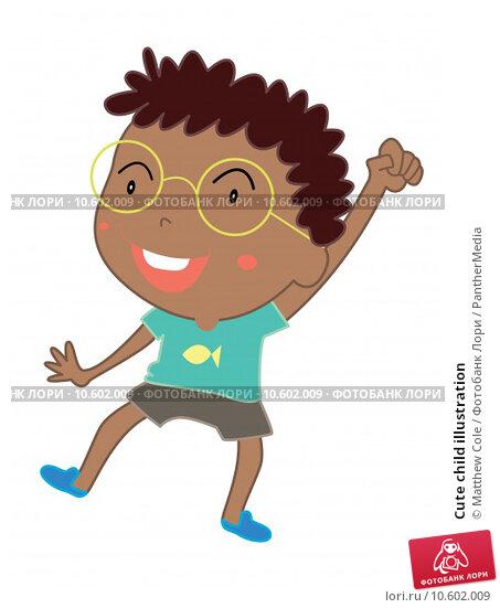 Cute child illustration. Стоковая иллюстрация, иллюстратор Matthew Cole / PantherMedia / Фотобанк Лори