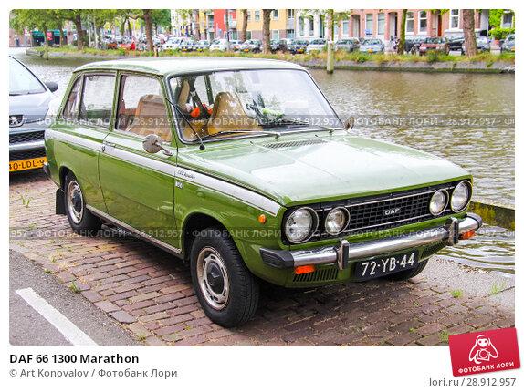 Купить «DAF 66 1300 Marathon», фото № 28912957, снято 10 августа 2014 г. (c) Art Konovalov / Фотобанк Лори