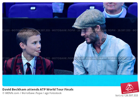 Купить «David Beckham attends ATP World Tour Finals Featuring: David Beckham, Romeo Beckham Where: London, United Kingdom When: 17 Nov 2016 Credit: WENN.com», фото № 28597333, снято 17 ноября 2016 г. (c) age Fotostock / Фотобанк Лори