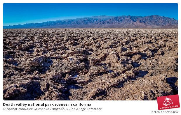 Death valley national park scenes in california. Стоковое фото, фотограф Zoonar.com/Alex Grichenko / age Fotostock / Фотобанк Лори