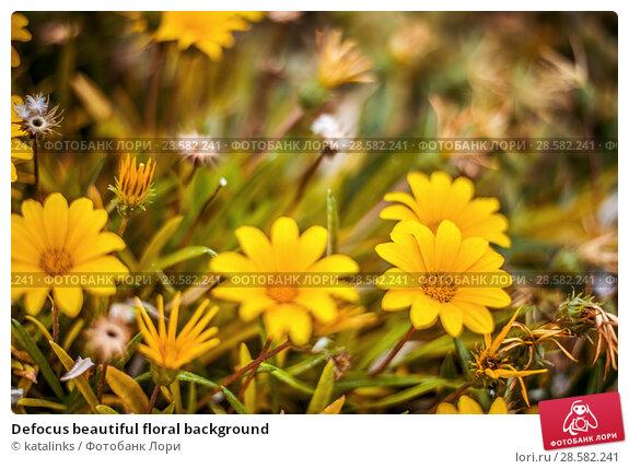 Купить «Defocus beautiful floral background», фото № 28582241, снято 19 мая 2018 г. (c) katalinks / Фотобанк Лори