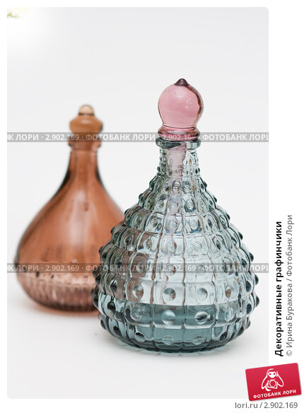 Купить «Декоративные графинчики», фото № 2902169, снято 18 сентября 2011 г. (c) Ирина Буракова / Фотобанк Лори