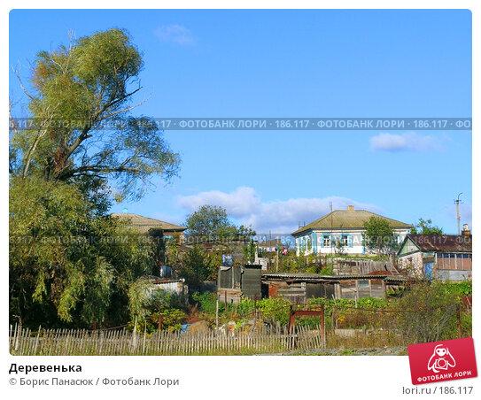 Деревенька, фото № 186117, снято 8 сентября 2006 г. (c) Борис Панасюк / Фотобанк Лори