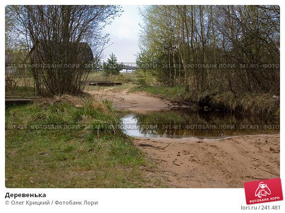 Деревенька, фото № 241481, снято 8 мая 2007 г. (c) Олег Крицкий / Фотобанк Лори