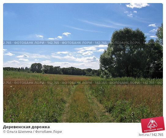 Деревенская дорожка, фото № 142765, снято 16 июля 2007 г. (c) Ольга Шилина / Фотобанк Лори