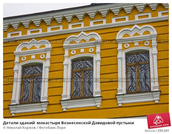 Детали зданий  монастыря Вознесенской Давидовой пустыни, фото № 339041, снято 22 июня 2008 г. (c) Николай Коржов / Фотобанк Лори